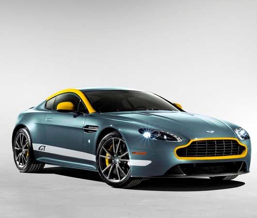 New Engine revealed 2015 Aston Martin V8 Vantage GT