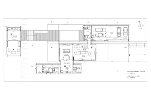 Contemporary Design of Haack House floor plan