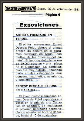 PREMIOS-PINTURA-TERUEL-GAZETA DE MANRESA-NOTICIAS-PERIODICOS-ERNEST DESCALS-