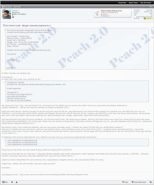 Penipu Online Rully Fajar Pratama