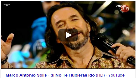 Video Musical, Marco Antonio solis