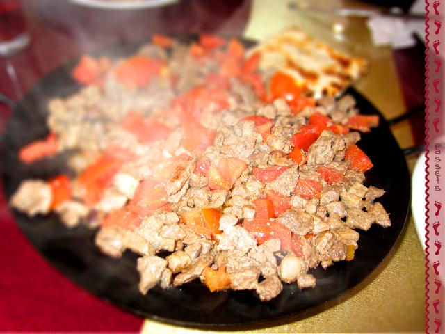 Comida típica en Capadocia