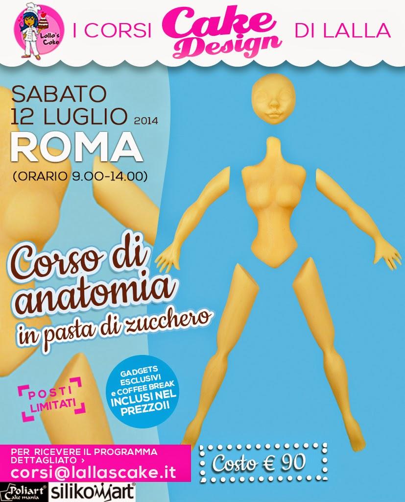 Nuove date corsi di cake design a roma lalla 39 s cake for Corsi design roma