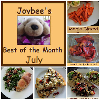 Best of the Month July 2015:  A recap of my most popular posts from last month (July 2015).