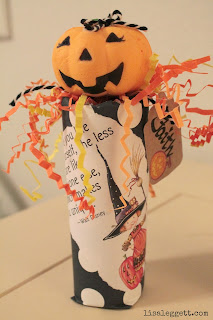 Personalized Halloween Popper by Lisa Leggett