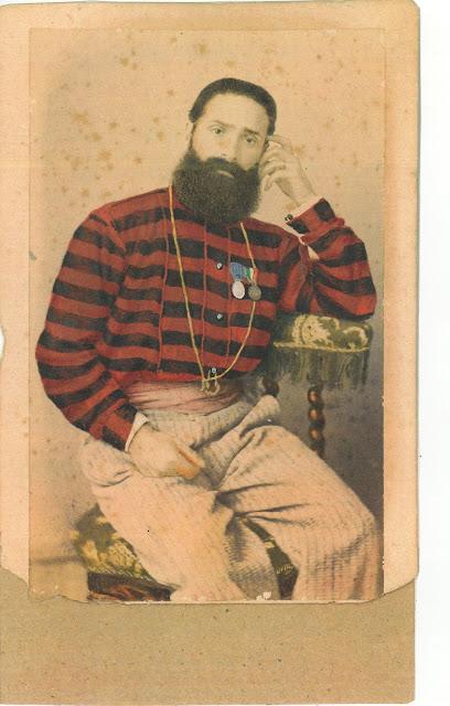 Foto Uff.le Medico Garibaldino Dr. G. Basile (n° inv. A4)