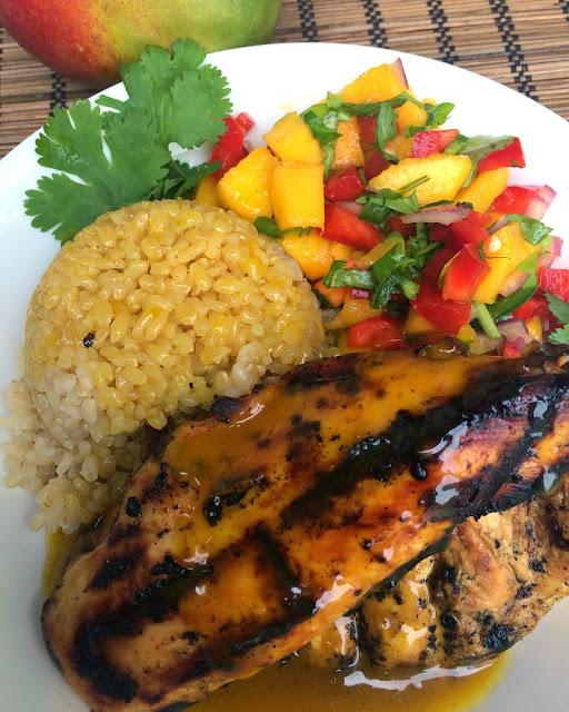 favorite recipe, Deals to Meals, Recipe:  Asian, Recipe:  Chicken, Recipe:  Rice, chicken marinade, easy marinade, quick and easy dinner, Quick Meals, Mango Margarita Chicken, Mango Curry Chicken, Mango Salsa