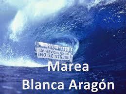 Marea Blanca comunicado Hospital provincia Teruel