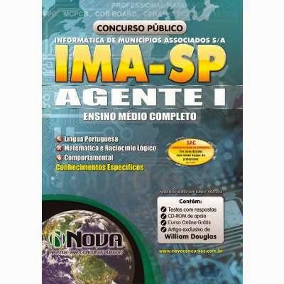Apostila Concurso Agente I IMA sp 2015