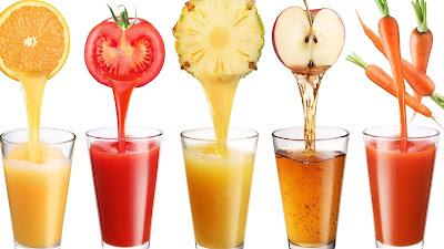 descubre las propiedades de algunos zumos, quemadores de grasa