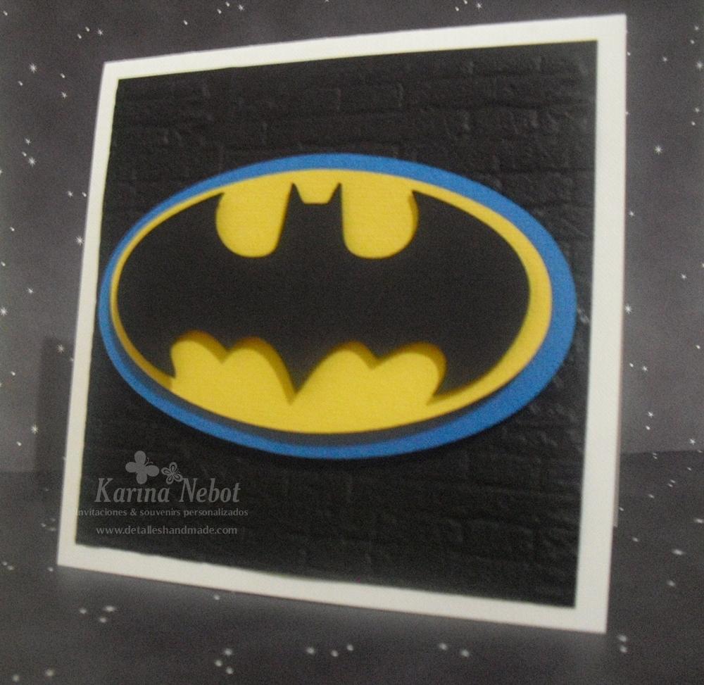 Karina Nebot: Invitaciones Batman