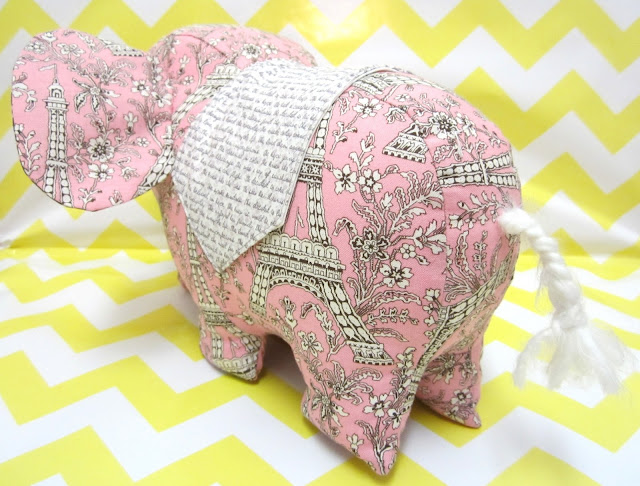 Last Minute Patchwork Elephant