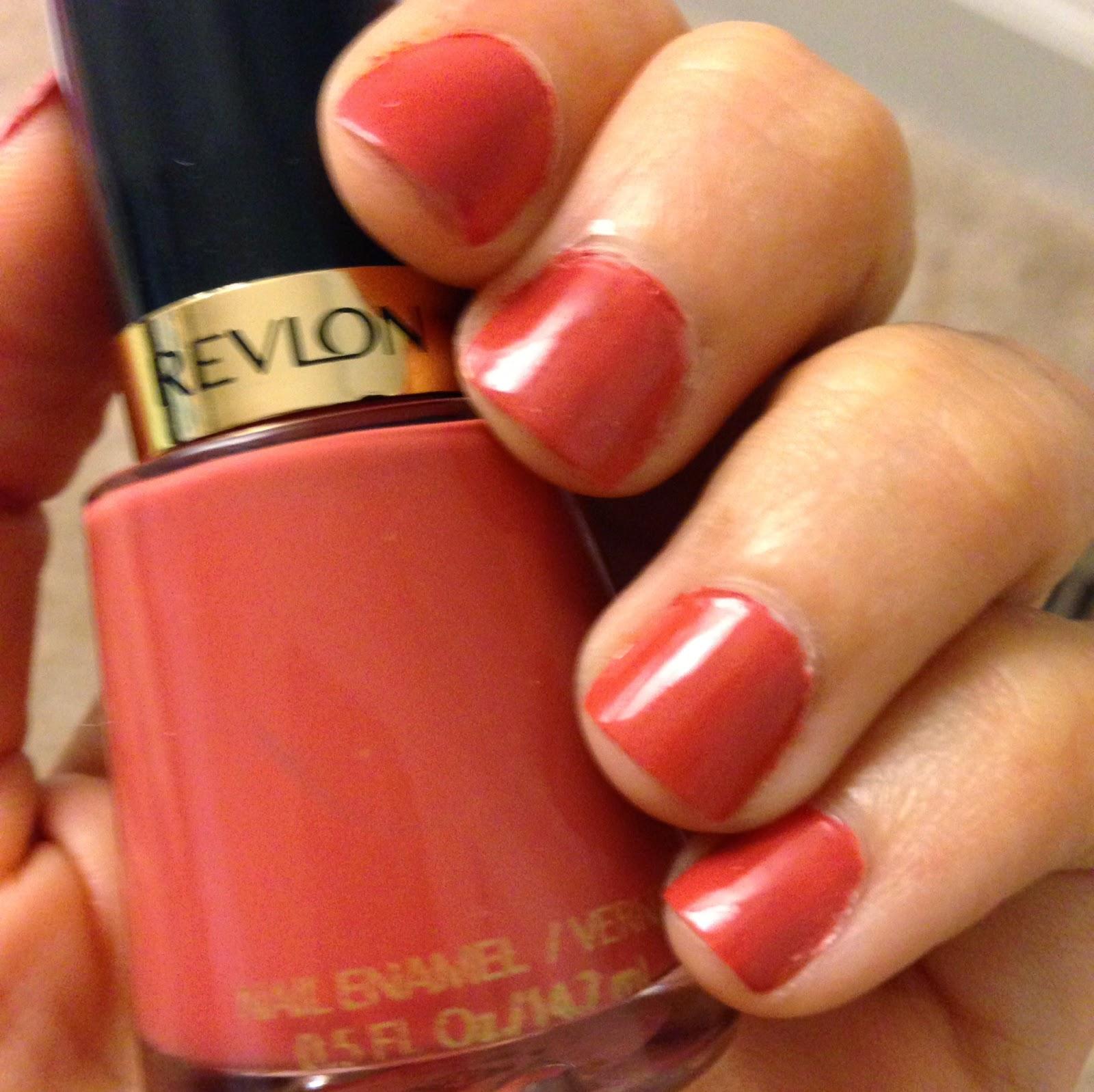 Haute in Hell: Friday Fingers!: Revlon Nail Enamel - Teak Rose