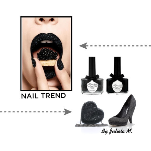 Visit www.forarealwoman.com, nail trend, caviar, Ciaté