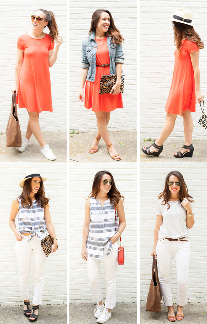 Here&Now: Summer Capsule Wardrobe Pros and Cons
