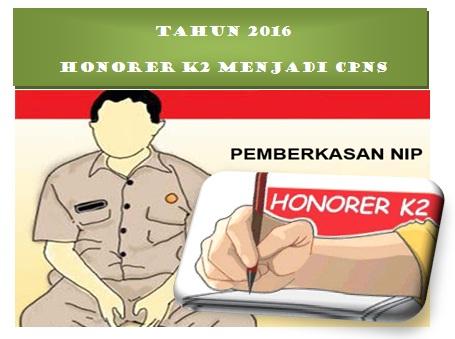 honorer k2 menjadi cpns