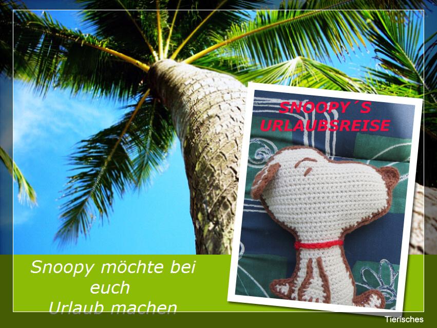 Snoopys Urlaubsreise