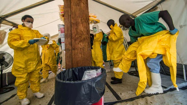 Bagaimana Ebola Boleh Berjangkit?