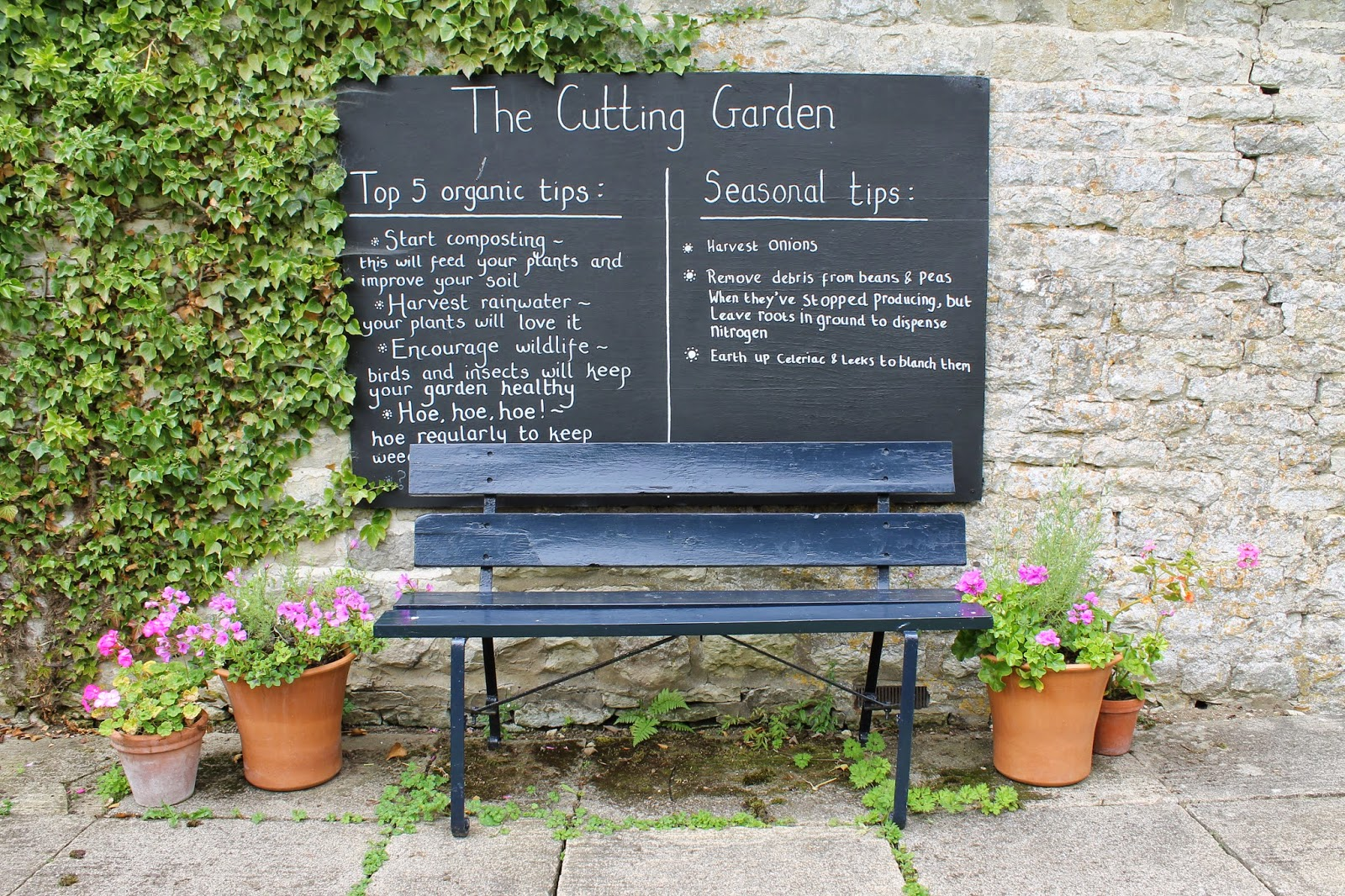 Jibberjabberuk Kitchen Garden Notes The Cutting Garden Nunnington Hall