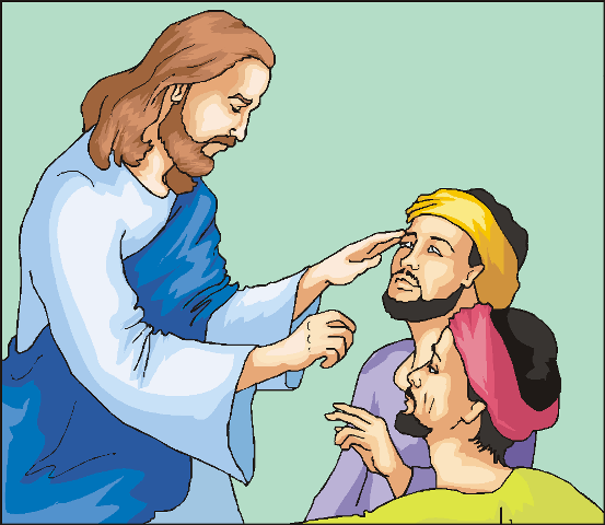 clipart of jesus healing - photo #26