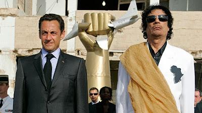 Skyline_Nachrichten_Sarkozy und Gaddafi