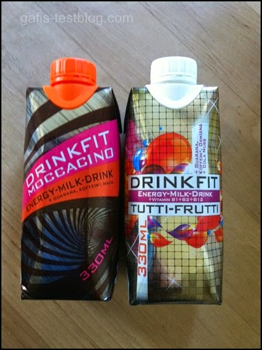 Energy-Milk-Drinks von drink fit