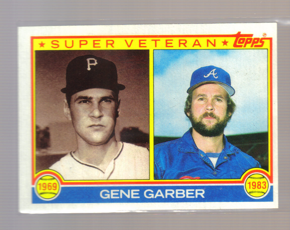 Gene Garber 1969 (and, later, as a Brave)