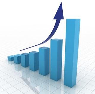 Diagrama de barras que simboliza la optimización del posicionamiento seo en tu página web