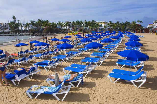 Gran Canaria has sunny weather almost every day in January
