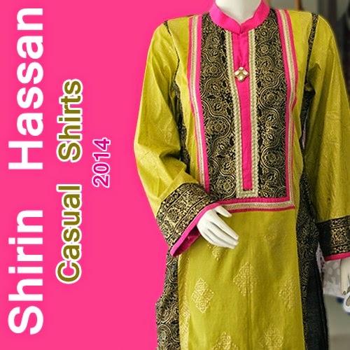 Shirin Hassan Casual Shirts