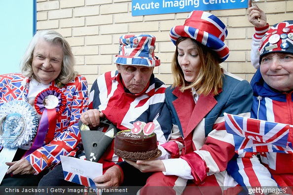 Royal baby at the Lindo wing as the World's media wait for Kate Middleton to go into labour at St Mary's Hospital