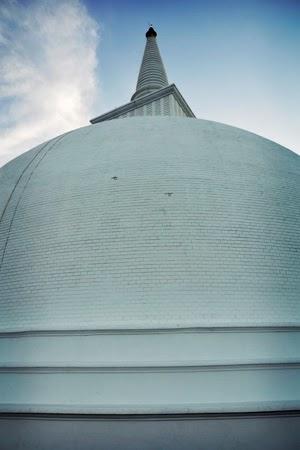Image of a Stupa at Anuradhapura