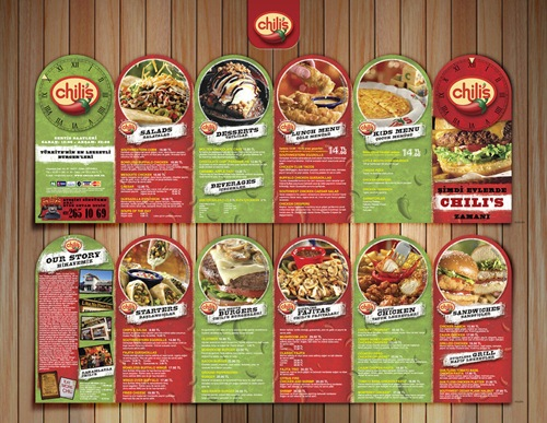 Food Brochure Design Examples