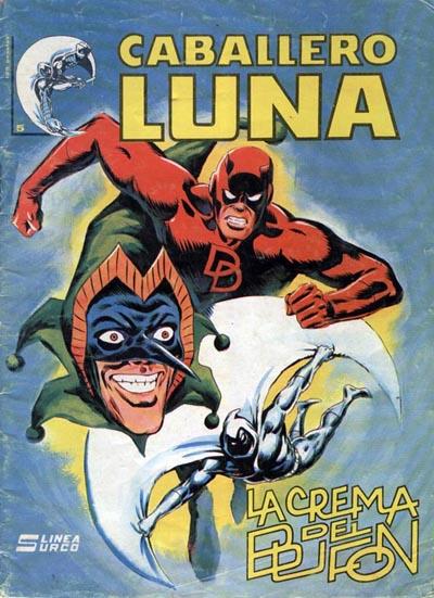 Portada del Caballero Luna Nº 5 Ediciones Surco