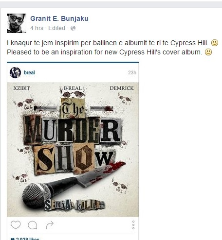 "Cypress Hill Steals Bunjaku's Creative Idea of ""Eminem Show"""