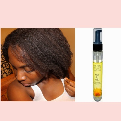 Wrapping Natural Hair Jane Carter Solution Wrap and Roll
