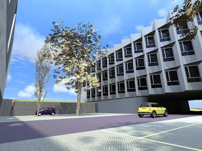 Infograf a edificio lucia universidad de valladolid - Universidad arquitectura valladolid ...