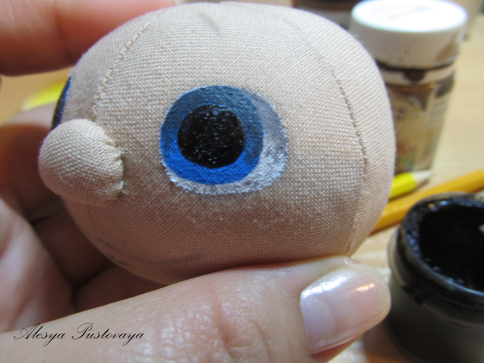 Глаза у игрушки мягкой своими руками