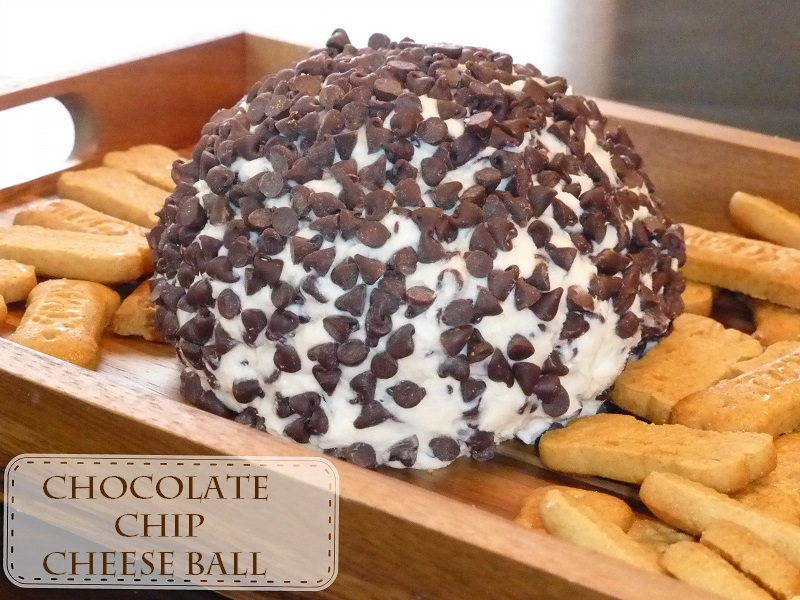Theresa's Mixed Nuts: Chocolate Chip Cheese Ball