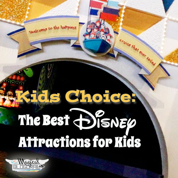 Magical Blogorail Special ~ Top Disney Attractions from The Kids of the Magical Blogorail