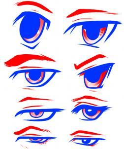 Drawing Anime: Drawing Anime eyes