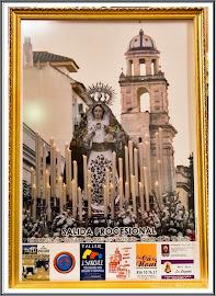 Cartel Anunciador Salida Procesional de Ntra. Sra. del Rosario-Capataces y Costaleros