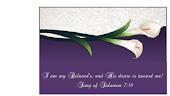 I am my Beloved's and His desire is towards me!