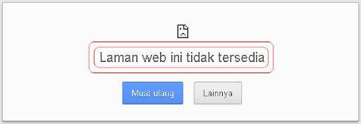 laman web tidak tersedia