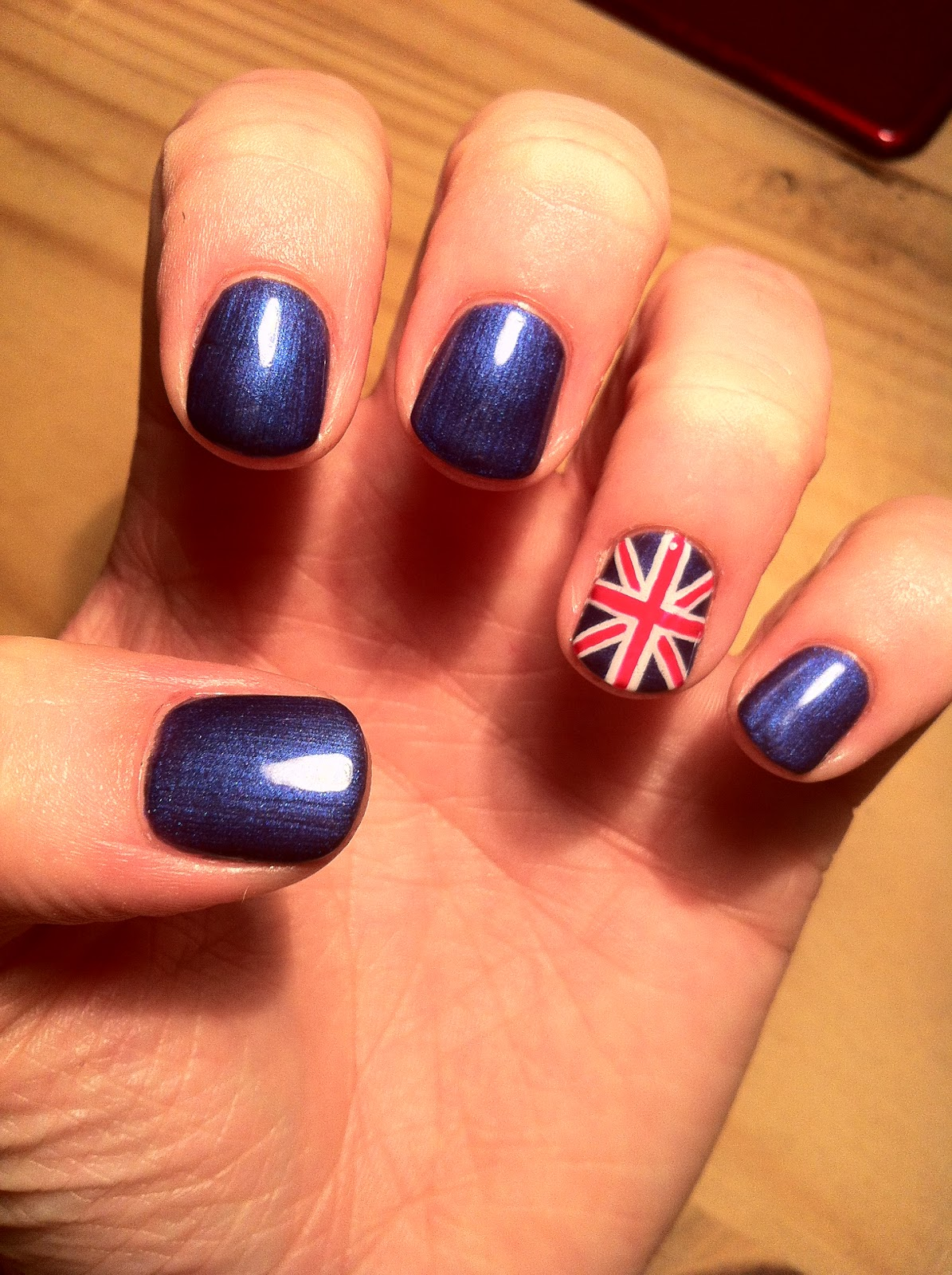 Nail design union union jack nails nail art gallery union jack nails nail art view images prinsesfo Gallery