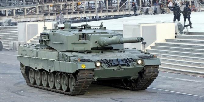 Pembelian Tank Leopard babak baru hubungan militer RI-barat