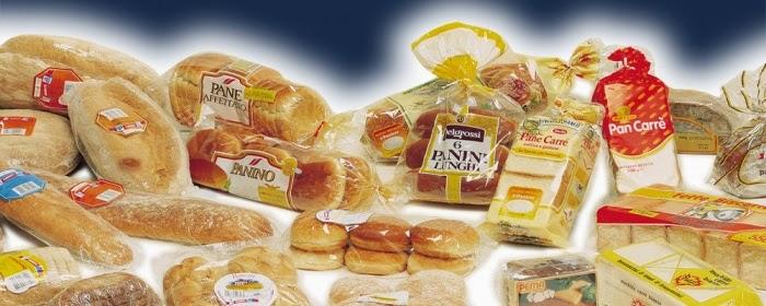 bread packing machine Horizontal food packaging for snack Verpackungsmaschine fuer Lebensmittel