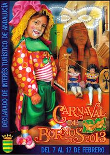 Carnaval de Bornos 2013 - Isabel Leticia Sánchez y Antonio Sánchez Baizán - Coloretes