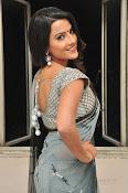 Jyothi seth sizzling saree photos-thumbnail-7