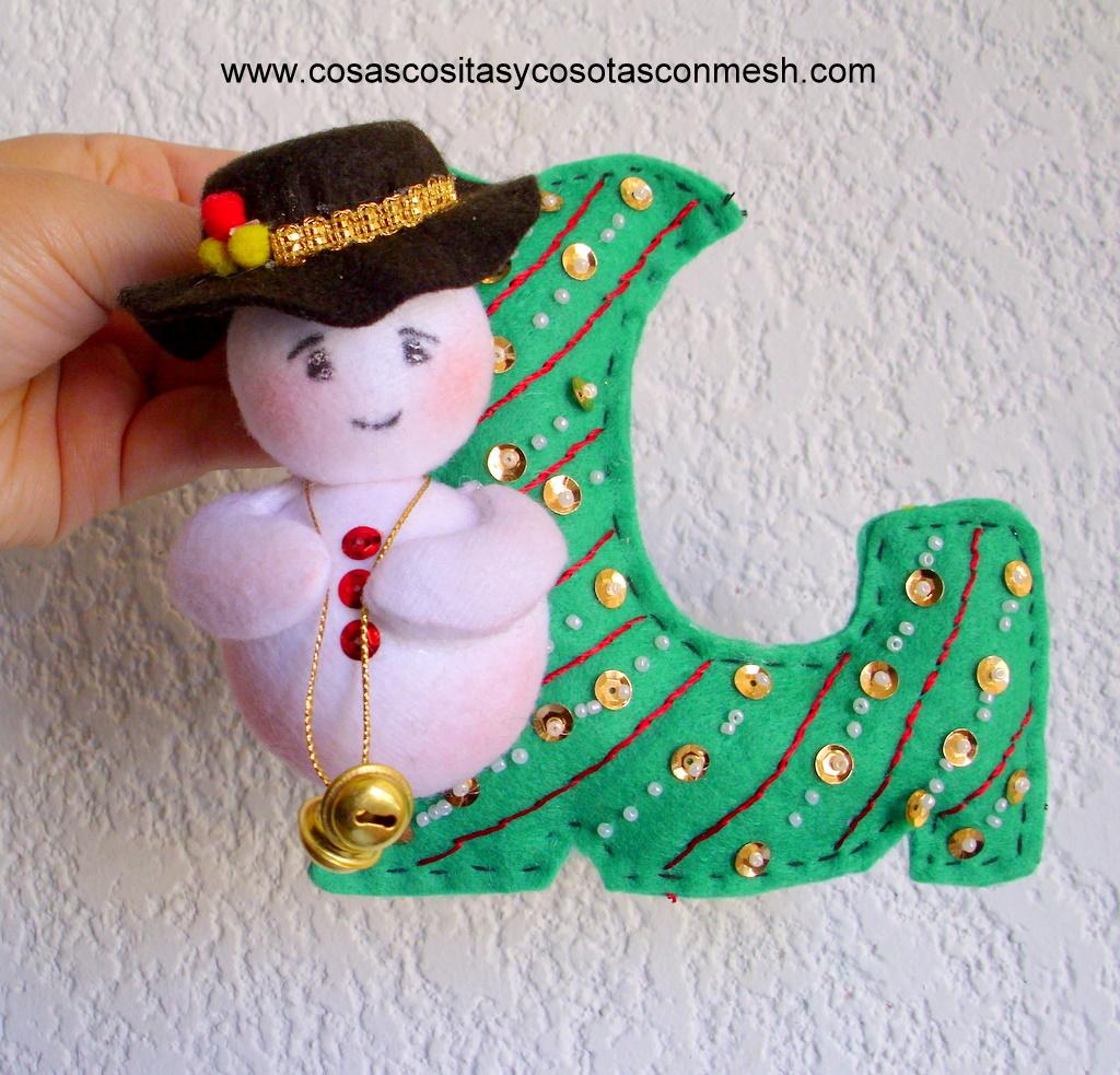 Adornos para el rbol de navidad cositasconmesh - Adornos para el arbol de navidad ...